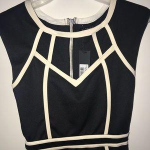 London Dress Company Black and White Dress